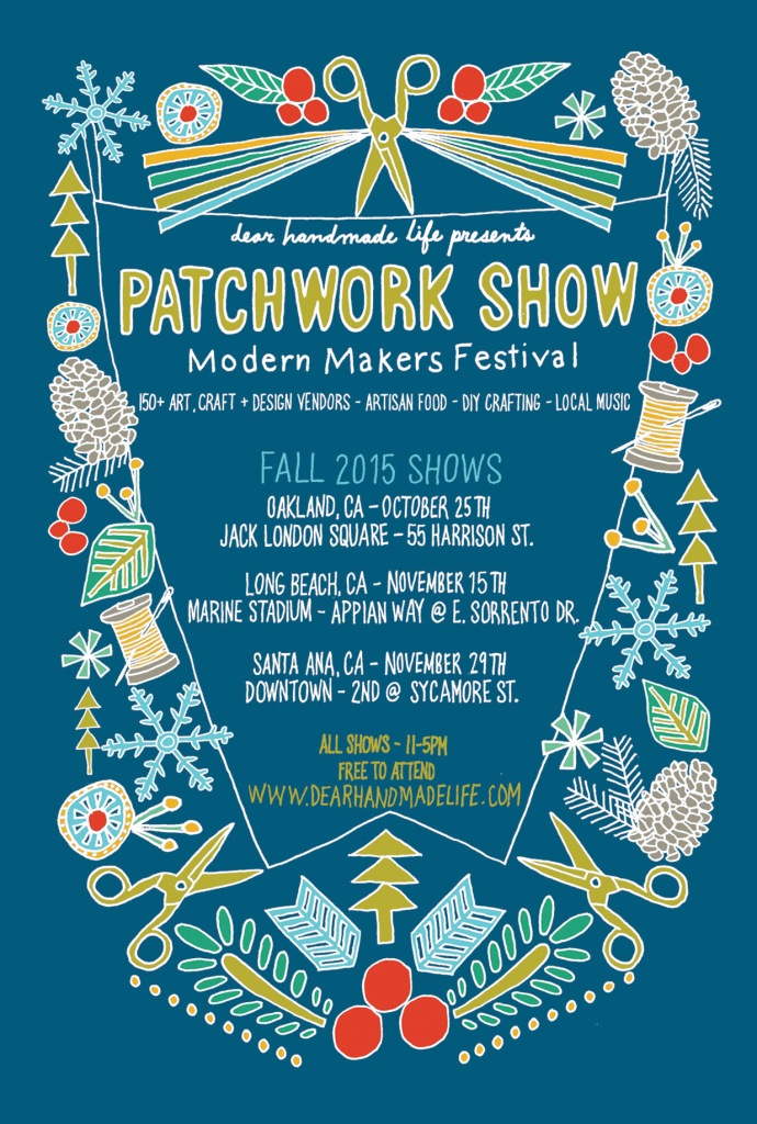 Patchwork Show | October 25th, 11-5pm